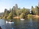canoeing Jenks Lake